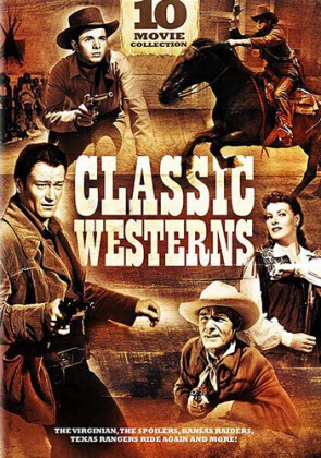 Classic Westerns - 10 Movie Collection (3 DVDs)