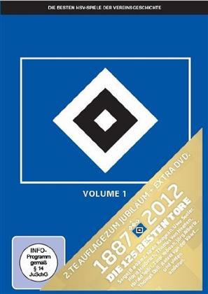 Die besten HSV Spiele der Vereinsgeschichte - Volume 1 (Limited Edition, 6 DVDs)