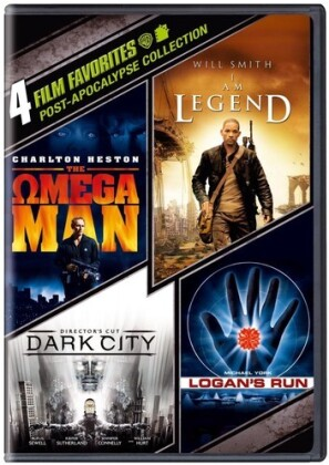 Post-Apocalypse Collection - 4 Film Favorites (4 DVDs)