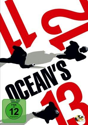 Ocean's Trilogie - (Amaray Version 3 DVDs)