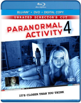 Paranormal Activity 4 (2012) (Unrated, Blu-ray + DVD)