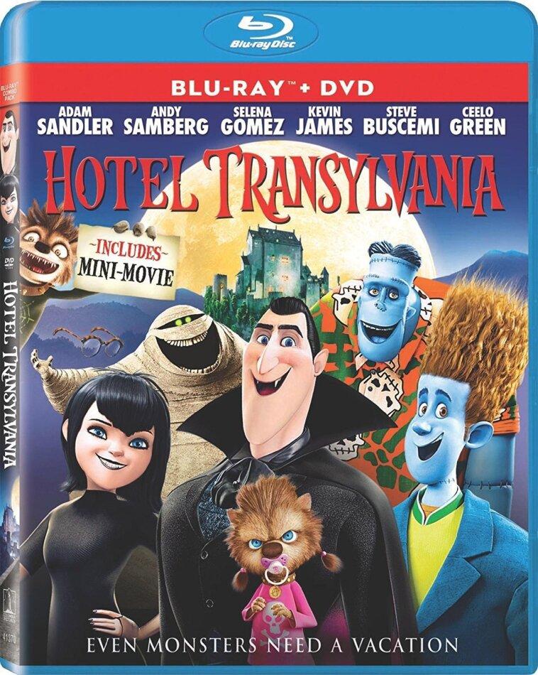 Hotel Transylvania (2012) (Blu-ray + DVD)