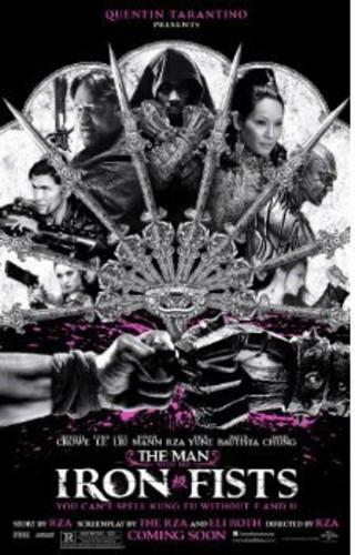 The Man with the Iron Fists (2012) (Unrated, Blu-ray + DVD)