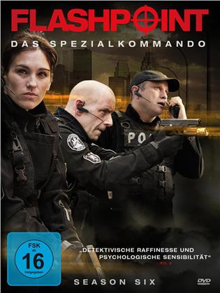 Flashpoint - Das Spezialkommando - Staffel 6 (3 DVDs)