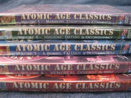 Atomic Age Classics Collection (s/w, 5 DVDs)