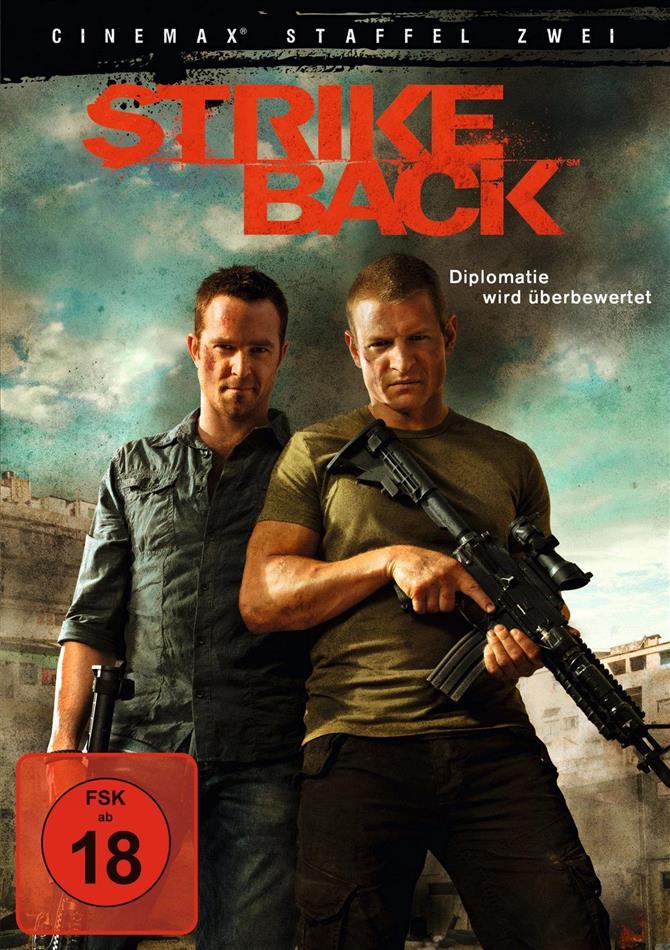 Strike Back - Staffel 2 (4 DVDs)