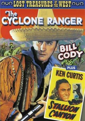 The Cyclone Ranger (1935) / Stallion Canyon (1949) (s/w)