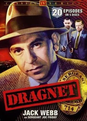 Dragnet - Vol. 1-5 (s/w, 5 DVDs)