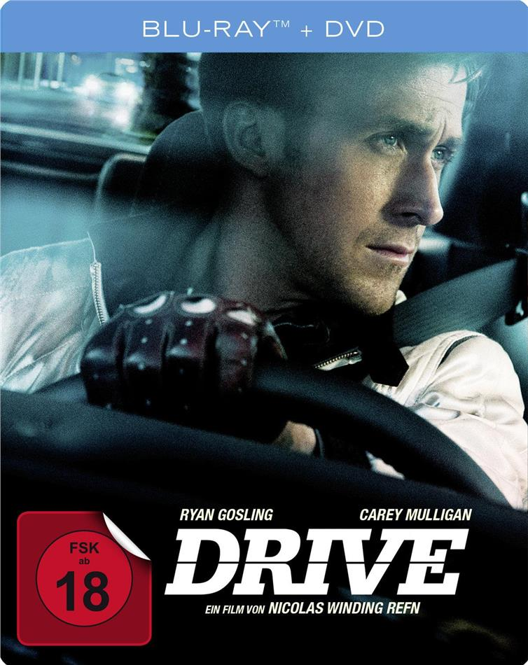 Drive (2011) (Steelbook, Blu-ray + DVD)