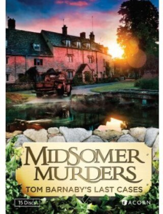 Midsomer Murders - Tom Barnaby's Last Cases (Collector's Edition, 15 DVD)