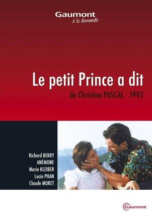 Le petit Prince a dit (1992) (Collection Gaumont à la demande)