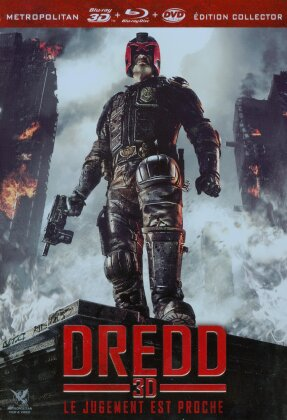 Dredd (2012) (Limited Edition, Steelbox, Blu-ray 3D + Blu-ray + DVD)