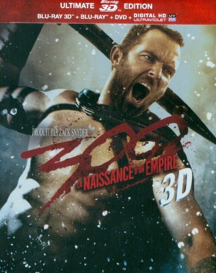 300 - La naissance d'un empire (2013) (Steelbook, Ultimate Edition, Blu-ray 3D (+2D) + DVD)