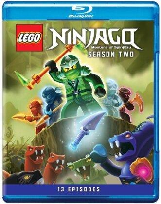 LEGO Ninjago: Masters of Spinjitzu - Season 2 (2 Blu-rays)