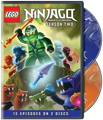 LEGO Ninjago: Masters of Spinjitzu - Season 2 (2 DVDs)