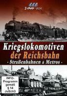 Kriegslokomotiven der Reichsbahn - Strassenbahn & Metros
