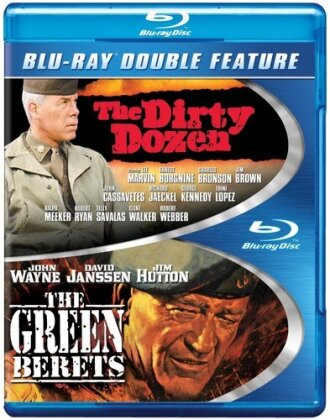 The Dirty Dozen / The Green Berets (Double Feature, 2 Blu-rays)