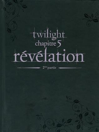 Twilight - Chapitre 5: Révélation - Partie 1 & 2 (2011) (Collector's Edition, Mediabook, 3 DVDs)