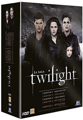 Twilight - La Saga - Chapitres 1-5 (5 DVDs)