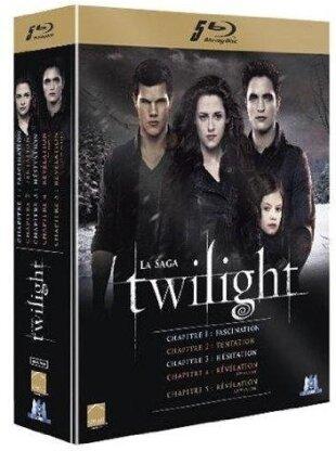 Twilight - La Saga - Chapitres 1-5 (5 Blu-rays)