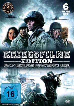 Kriegsfilme Edition - (6 Filme Set - 2 DVDs)