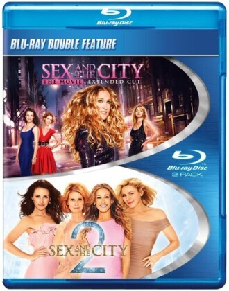 Sex and the City 1 & 2 (Double Feature, 2 Blu-rays)