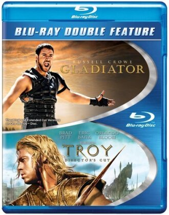 Gladiator / Troy (Double Feature, 2 Blu-rays)