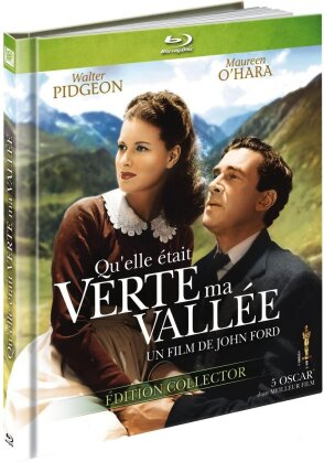 Qu'elle était verte ma vallée (1941) (Collector's Edition, s/w, Blu-ray + DVD + Booklet)