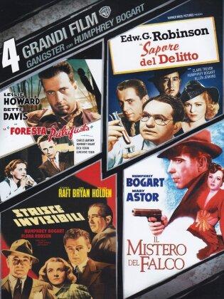4 Grandi Film - Gangsters con Humphrey Bogart - La Foresta Pietrificata / Il Sapore del Delitto / Strisce Invisibili.. (n/b, 4 DVD)