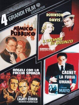 4 Grandi Film - Gangsters - Nemico Pubblico / L'Uomo di Bronzo / Angeli con la Faccia Sporca / ... (s/w, 4 DVDs)
