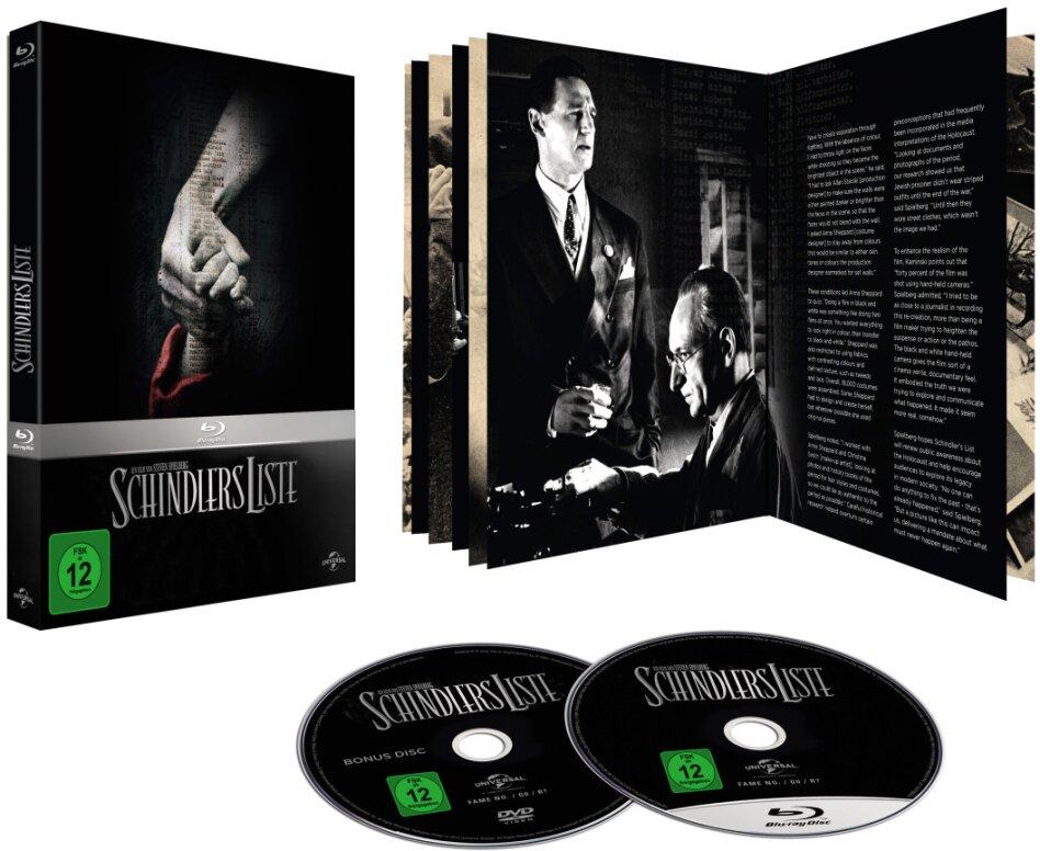 Schindlers Liste - (Limited Edition Digibook/ Blu-ray + Bonus-DVD) (1993)