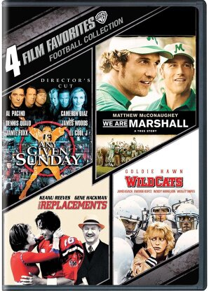 4 Film Favorites - Football Collection (4 DVDs)