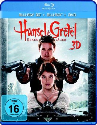 Hänsel & Gretel: Hexenjäger (2013) (Blu-ray 3D + 2 Blu-rays + DVD)