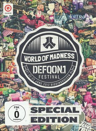 Various Artists - Defqon.1 Festival 2012 (Blu-ray + 2 DVDs + CD)