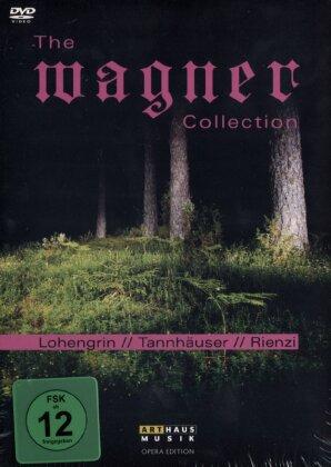 Various Artists - The Wagner Collection - Lohengrin / Tannhäuser / Rienzi (Opera Edition, Arthaus Musik, Box, 6 DVDs)