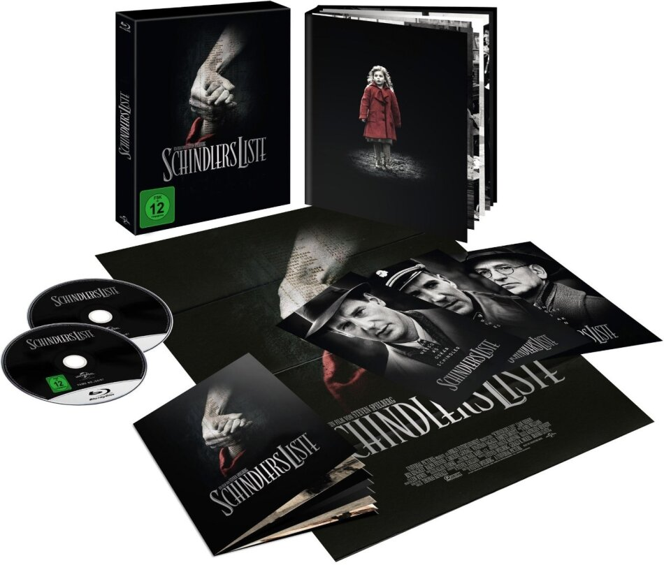 Schindlers Liste (1993) (Limited Deluxe Edition, Neuauflage, Blu-ray + DVD)