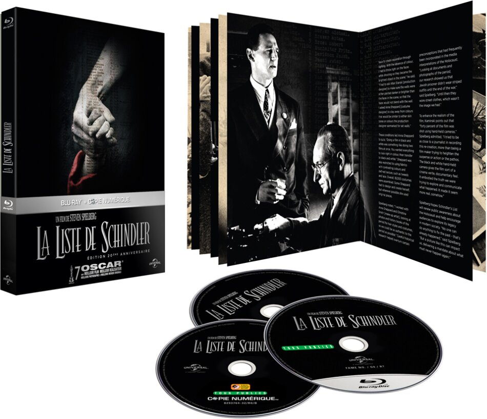 La Liste de Schindler - (Edition Digibook / Blu-ray & DVD) (1993)