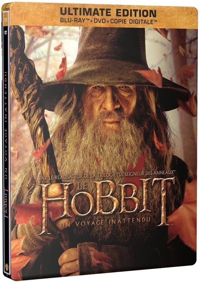 Le Hobbit - Un voyage inattendu - (Gandalf - Ultimate Edition Steelbook / 2 Disques & DVD) (2012)