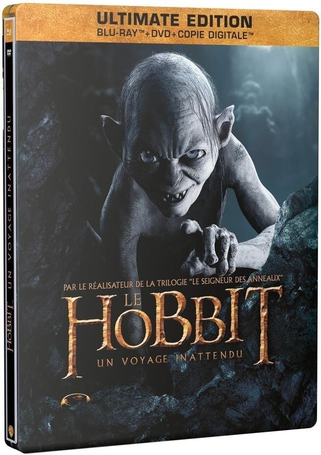 Le Hobbit - Un voyage inattendu - (Gollum - Ultimate Edition Steelbook / 2 Disques & DVD) (2012)