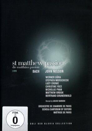 Orchestre de Chambre de Paris, Schola Cantorum Of Oxford, … - Bach - Matthäus Passion (2 DVDs)