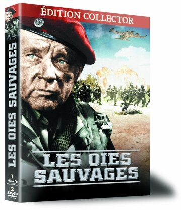 Les oies sauvages (1978) (Collector's Edition, Blu-ray + 2 DVDs)