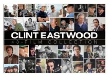 Clint Eastwood - 40 Film Collection (Collector's Edition, 40 DVDs)