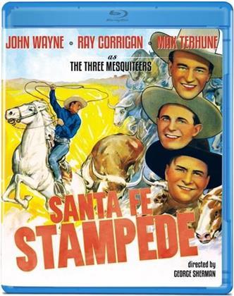 Santa Fe Stampede (1938) (s/w)