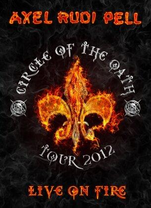 Axel Rudi Pell - Live on Fire (Edizione Limitata, 2 DVD + 2 CD)