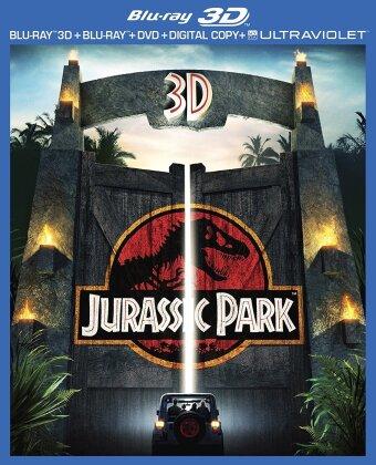 Jurassic Park (1993) (Blu-ray 3D (+2D) + Blu-ray + DVD)