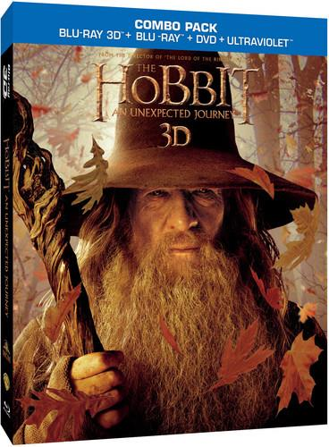 The Hobbit - An Unexpected Journey (2012) (Blu-ray 3D (+2D) + Blu-ray + DVD)