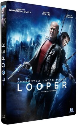 Looper (2012) (Steelbook, Blu-ray + DVD)