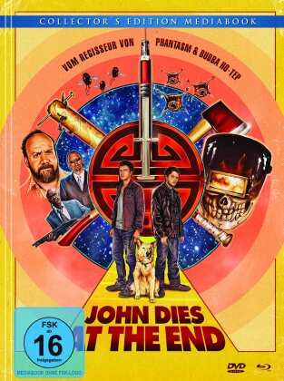 John dies at the end (2012) (Mediabook, Blu-ray + DVD)