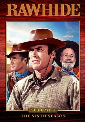 Rawhide - Season 6.1 (b/w, 4 DVDs)