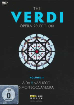 Various Artists - The Verdi Opera Selection Vol. 2 - Aida / Nabucco / Simon Boccanegra (Arthaus Musik, 4 DVDs)